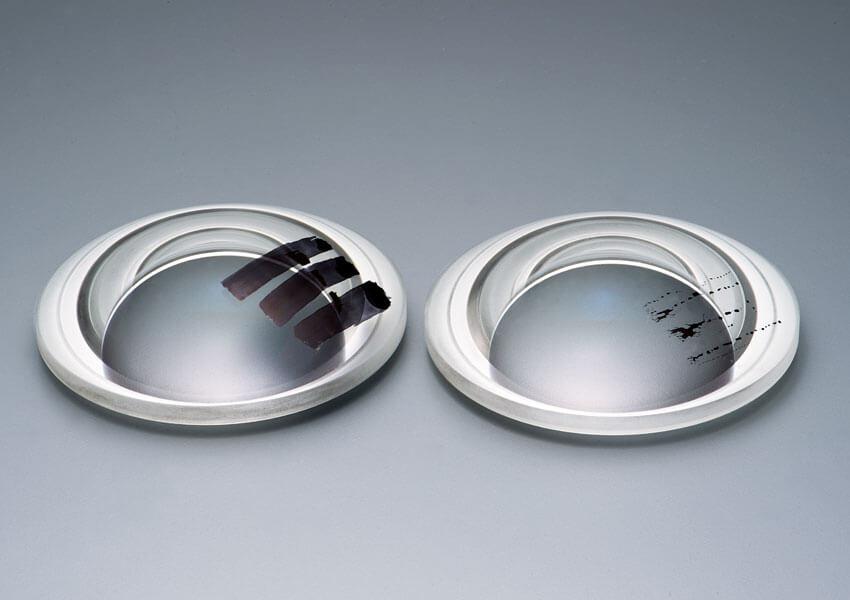 Слева: без фтористого покрытия  Справа: с фтористым покрытием